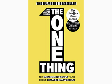 the one thing book by gary keller