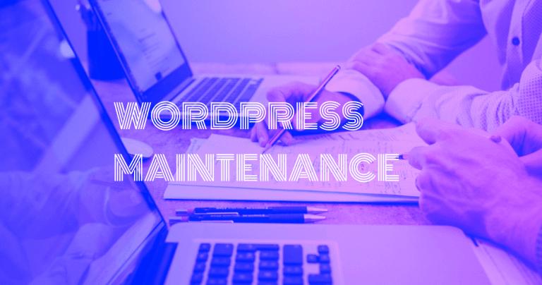 wordpress maintenance Brussels